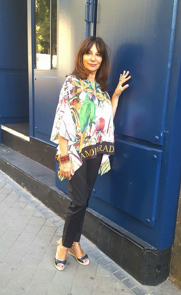 Blusa estilo poncho: 79 euros | Blog de Yolanda Valdehita