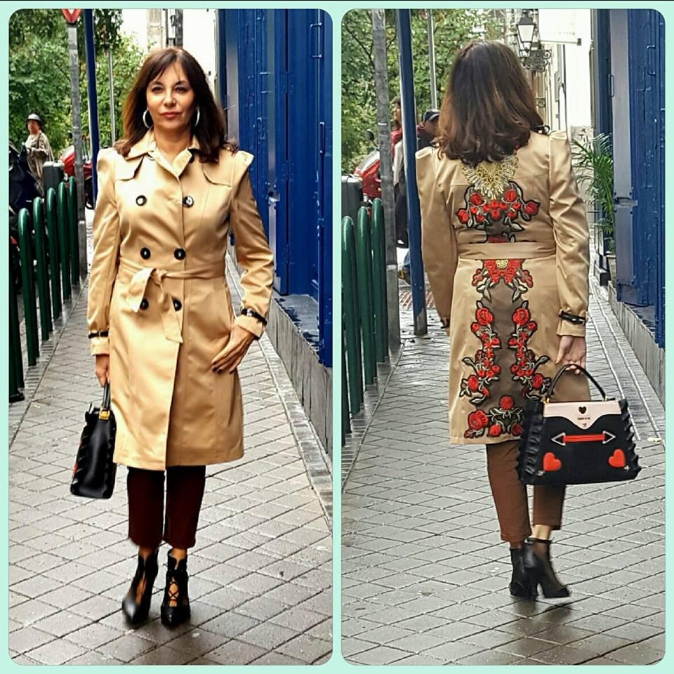 Gabardina de sahoco estilo dolce gabana blog de yolanda - Personal shopper blog ...
